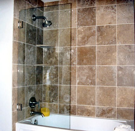 Conceptual Glass and Shower Door - showers